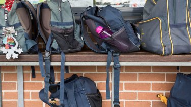 A Caboolture schoolgirl allegedly pulled a knife on another student on Monday.