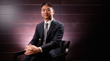 Richard Liu, the founder of China's second-biggest online retailer, wants to invest in Australian companies.