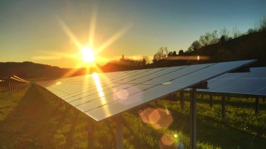 The cost of solar power generation has come down rapidly.