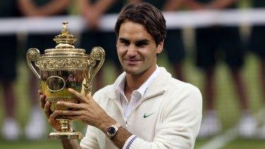 Federer won his seventh Wimbledon in 2012.