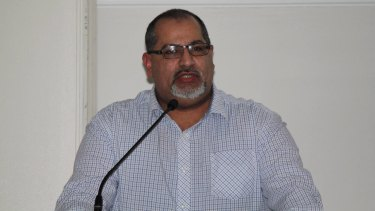"""Former president of the Islamic Council of Victoria, Ghaith Krayem: """"No one, regardless of religion or ethnic background, should be forced to sing the national anthem."""""""