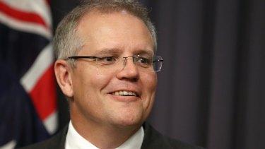 New Social Services Minister Scott Morrison.