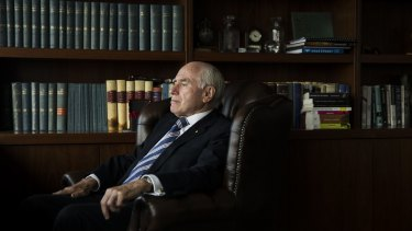 ''I immediately focussed on what I could do'': Former prime minister John Howard recalling how he reacted to the news of the Port Arthur tragedy.
