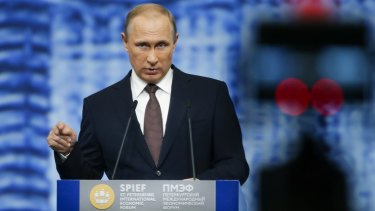 Russian President Vladimir Putin's government responded to sanctions by banning dairy imports.