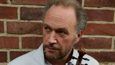 Violinist Kolja Blacher handled the taxing workload in Brahms D Major Concerto with assurance.