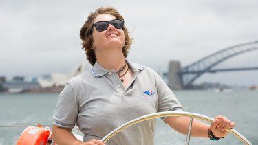 Lisa Blair will be the third racer, and the first woman, to compete in the Antarctica Cup Ocean Race.
