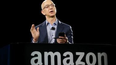 Amazon CEO Jeff Bezos. France and Germany are leading an EU push to force tech giants like Amazon to pay more taxes in the countries in which they operate.