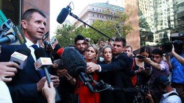 Premier Mike Baird on Friday in Sydney.
