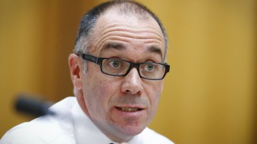"""NAB boss Andrew Thorburn railed against the tax: """"Anybody who's profitable could be in the gun for a random tax?"""""""