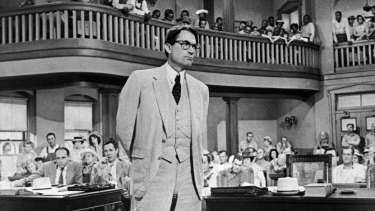 Gregory Peck stood against all that was stupid and mean in American life when he played small-town lawyer Atticus Finch in <i>To Kill a Mockingbird</i>.