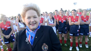 Participation push: Susan Alberti.