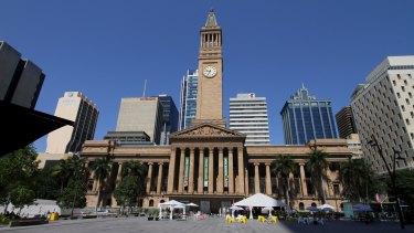 Brisbane City Hall.