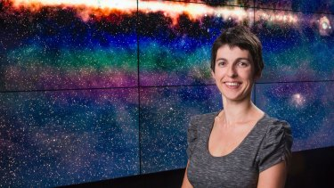 Lead researcher of the study, radio astronomer Natasha Hurley-Walker.