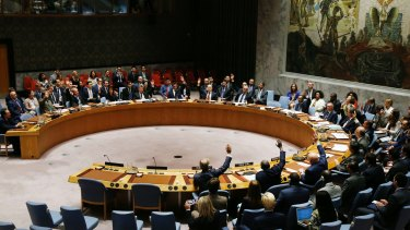 The United Nations Security Council votes to pass a new sanctions resolution against North Korea.