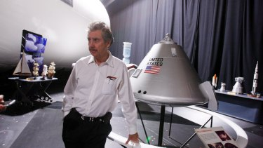 "Robert Bigelow, a billionaire aerospace entrepreneur and longtime friend of former senator Harry Reid, in North Las Vegas, Nevada. Bigelow has said he is ""absolutely convinced"" that aliens exist and that UFOs have visited Earth."