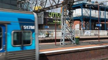 South Yarra train station.