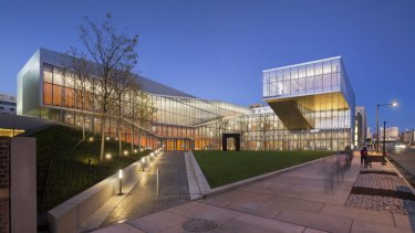 The Weiss/Manfredi designed Krishna P. Singh Centre for Nanotechnology in Philadelphia.