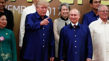 Any Putin-Trump meeting would be fraught with political complications for Trump, as his campaign and his administration face investigations over ties to the Russian government during the 2016 presidential campaign.