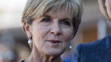 Foreign Minister Julie Bishop says the white paper will 'look at how to maximise our influence'.