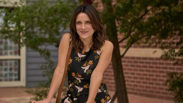 Jessica Tovey plays the energetic Danielle in Bad Mothers.