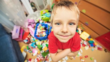 Children might be happier with a few signature toys.