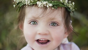 Romy features in a  photographic art book celebrating the joys of parenting disabled children.