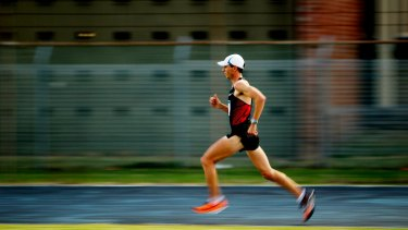 Scott Westcott: Set to become the oldest Australian to make an Olympic debut.