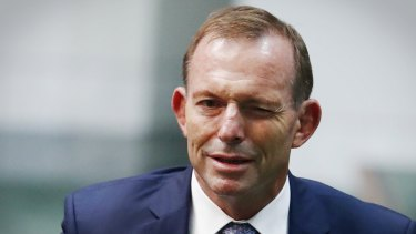 Former prime minister Tony Abbott had ruled out changes to negative gearing.