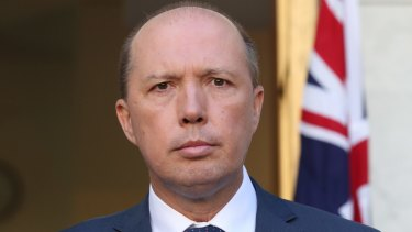 """""""One down, many to go"""": Peter Dutton welcomed the axing of Yassmin Abdel-Magied's program."""