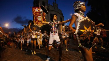 It's Carnival time in Brazil, where officials say as many as 100,000 people may have already been exposed to the Zika virus.