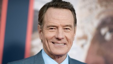 The power of performance: actor Bryan Cranston.