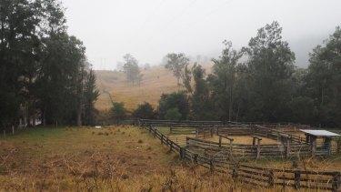 Site of the planned open-cut coal mine near Gloucester.