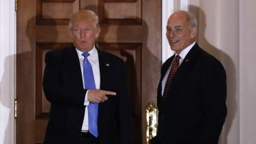 Rretired four-star marine general John Kelly. As well as taking on Trump's wall on the Mexico border, Kelly will inherit the US-Australia deal to resettle thousands of refugees.