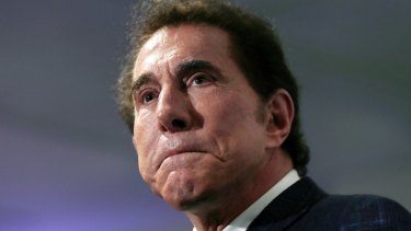 Caught in controversy: Steve Wynn has resigned as finance chairman of the Republican Party's fundraising arm.