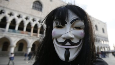 Several websites were defaced with Anonymous ideology.