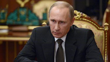 """""""A stab in the back"""" ... Russian President Vladimir Putin has lashed out at Turkey over the downing of a Russian fighter jet."""
