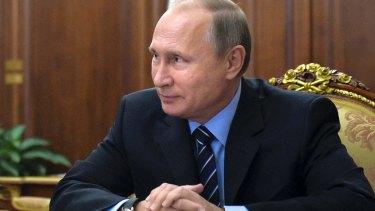 Russian President Vladimir Putin may test Trump.
