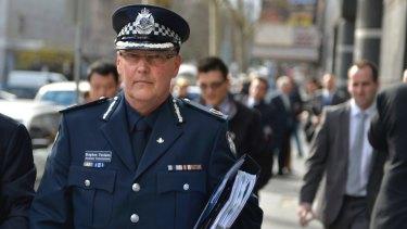 Victoria Police chief Steve Fontana.