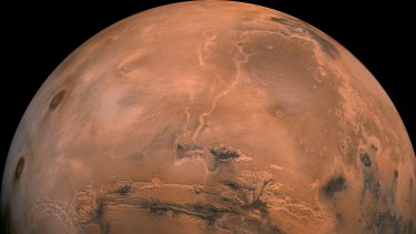 The planet Mars beckons.