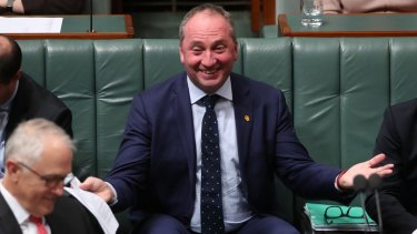 """Deputy Prime Minister Barnaby Joyce has said the government """"will keep base load coal-fired power going""""."""