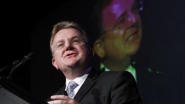 Former small business minister Bruce Billson is championing Spencer Porter's entrepreneurship.
