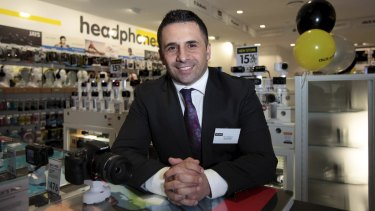 Dick Smith CEO Nick Abboud plans to add small appliances such as kettles, toasters and coffee makers to his electronics range.