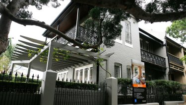 Ian Narev has apparently sold his inner-Sydney terrace for $2.9 million.