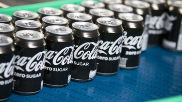 Coca Cola says one in two consumers don't realise there is zero sugar in Coke Zero.