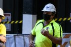 A skills shortage is affecting the construction industry.