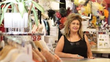 Heleny McClennan, owner of Hunter street boutique Ruby Rhubarb, wants light rail in Newcastle.