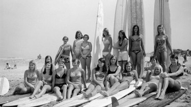 The Kurranulla Wahines all-female club from the mid '60s.