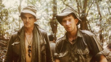 Australian soldiers in Vietnam at the Battle of Long Tan, August 1966.