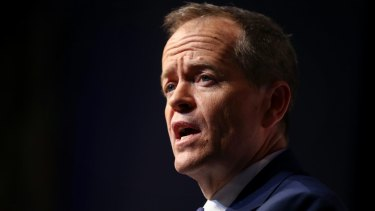 Opposition Leader Bill Shorten addresses the CEDA 2017 State of the Nation Conference at Parliament House in Canberra.