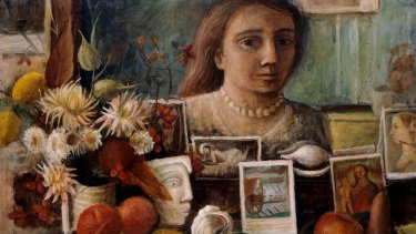 Portrait in the Mirror by Margaret Olley.
